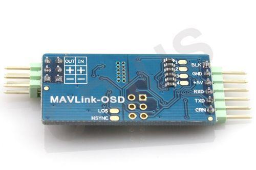 MAVLink-OSD V1.0 On-Screen Display MinimOSD for AIOP APM Telemetry ATMEGA328P