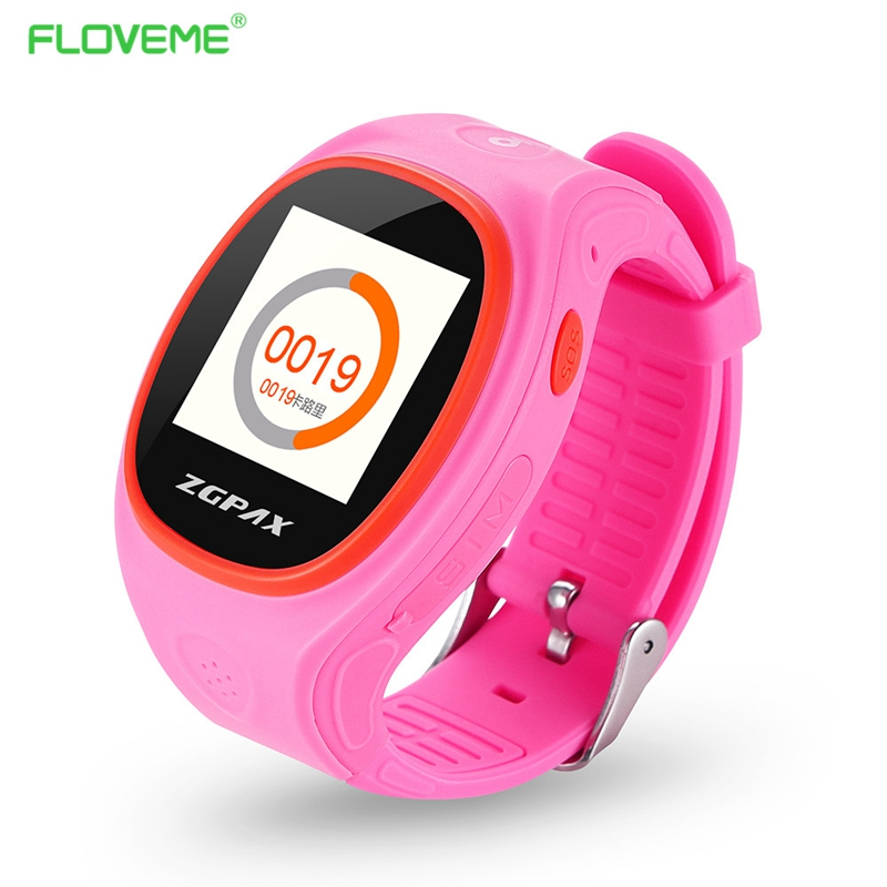 FLOVEME font b Smart b font Baby font b Watch b font GPS Locator Tracker Anti