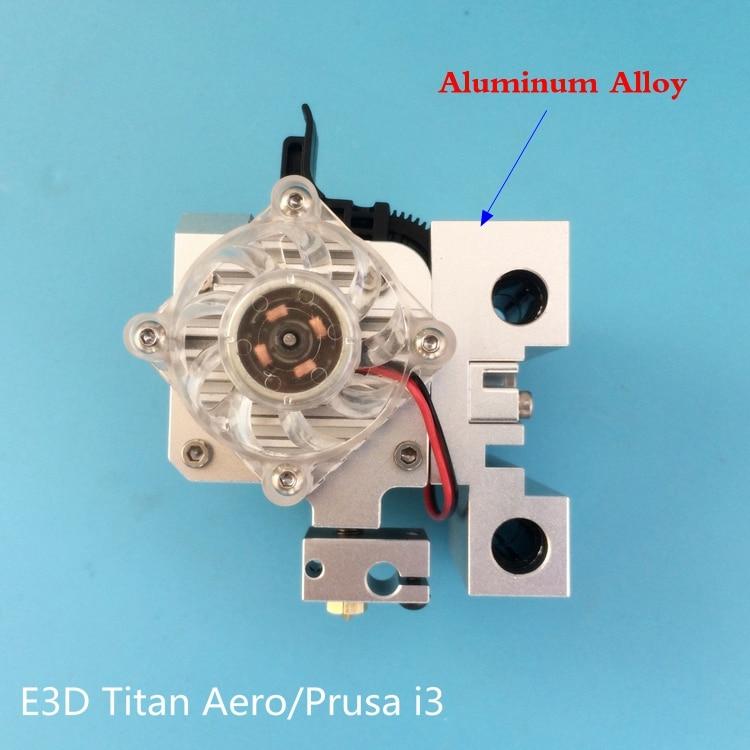 1 set Assembled Prusa i3 Aero Upgrade Kit Titan Aero Upgrade kit extruder + Aluminum Prusa i3 MK2 X carriage Titan Aero Mount