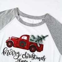 VIN Beauty Fashion 2018 Plus Size Women T Shirt Merry Christmas Y'all Baseball Tees Half Raglan Sleeve O-Neck White Casual Top 3