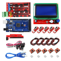 Mega 2560 R3 + RAMPS 1.4 Controller + LCD 12864 + 5 Limit Switch Endstop + 5 A4988 Stepper Driver