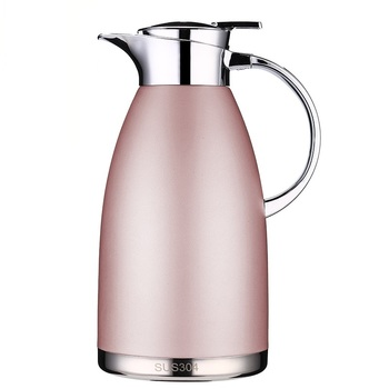 Double Layer Insulated Thermal Jug as Vacuum Jug for Hot Water Coffee and Tea