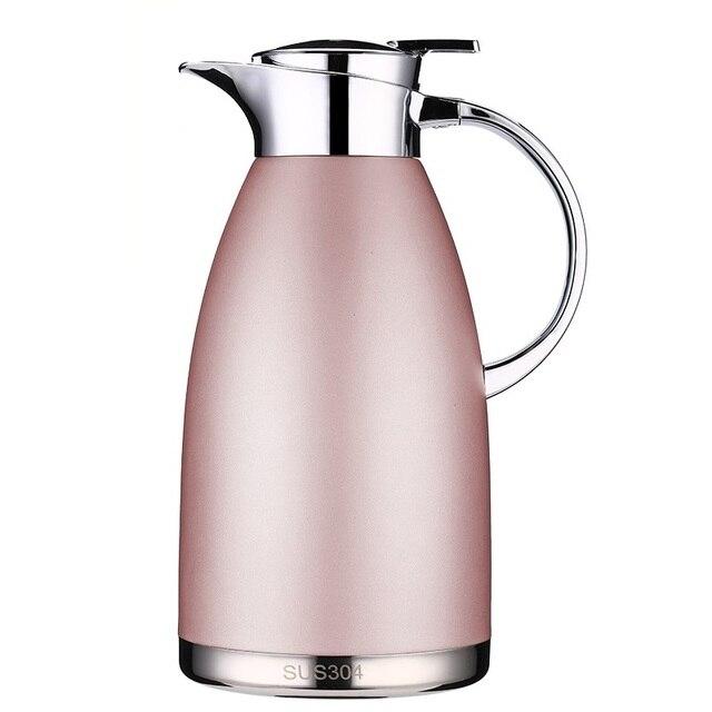 1.8L/2.3L魔法瓶フラスコ熱水差し投手ステンレス鋼二重層真空断熱ボトルコーヒーティーケトルポット