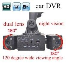new arrival hot sale H3000 Rotatable Dual Lens Car DVR font b Camera b font Recorder