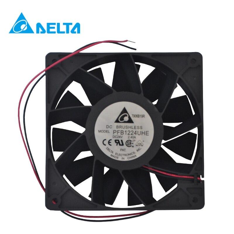 Delta PFB1224EHE/UHE/GHE FFB1224SHE/EHE Inverter 12CM Cm 12038 24V Axial  Fan