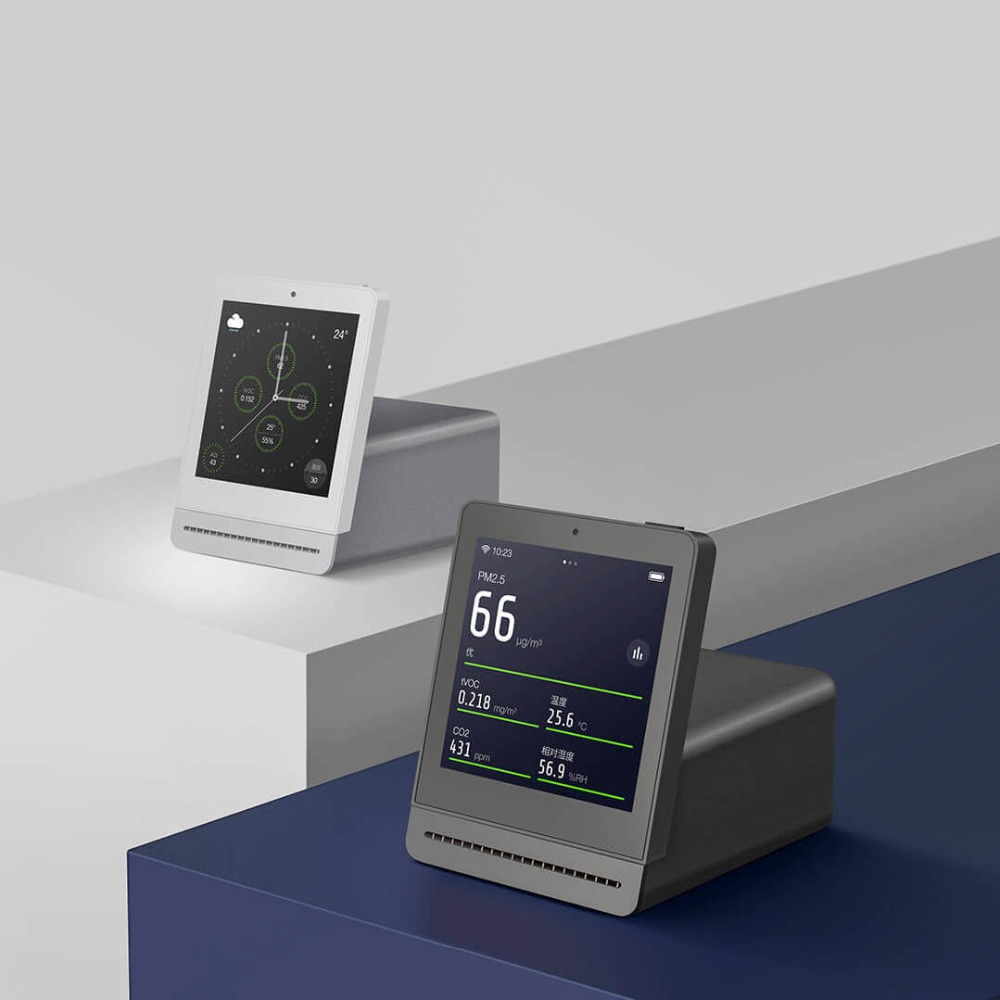 Xiaomi Mijia ClearGrass Air Monitor Retina Touch IPS Screen Mobile Touch Operation Indoor Outdoor Clear Grass Air Detector