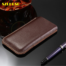 OnePlus One Genuine Leather phone bags OnePlus 7 Pro Cases Flip cover slim pouch stitch sleeve OnePlus 7 6T 6 5 5t 3 3t x 2