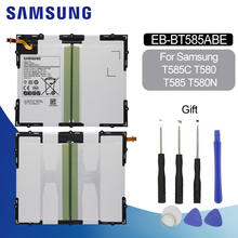 Original Battery For SAMSUNG BT585 EB-BT585ABE 7800mAh Samsung Galaxy Tab A 10.1 2016 T580 T580N Replacement Tablet