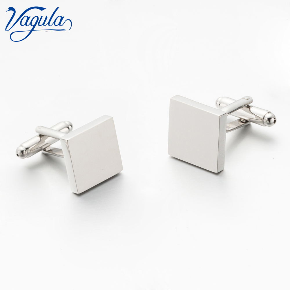 VAGULA Cufflinks Bonito Gemelos  Top Luxury Brand Gift Party Wedding Suit Shirt Button Square Brass Cuff Link 701