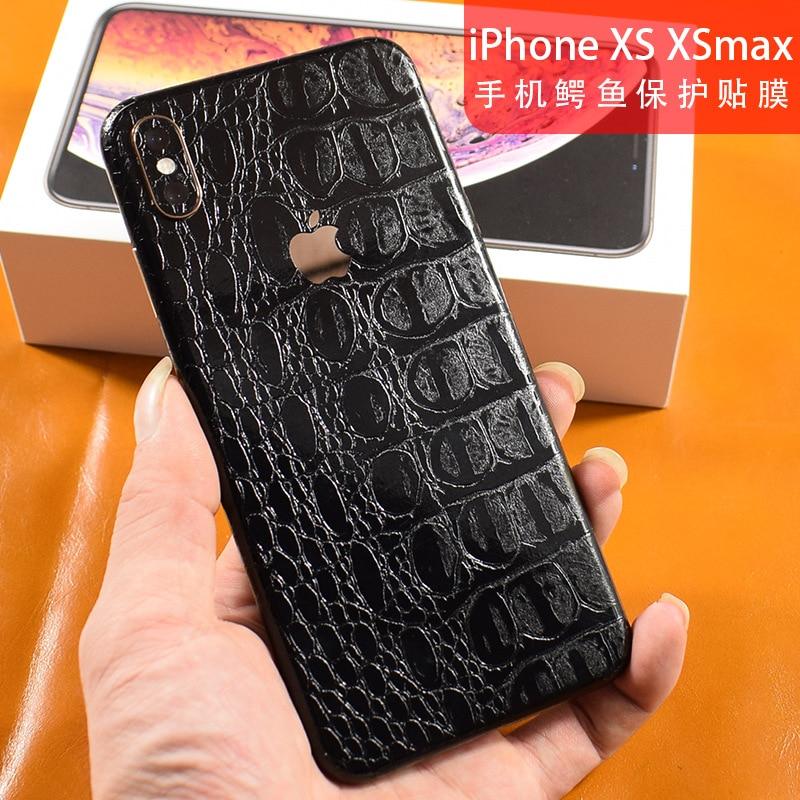 Crocodile Snakeskin Pattern Decorative Back For Apple iPhone XS XSMAX X MAX