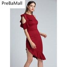 Fashion Evening Irregular fishtail Women Dresses Clothing Splicing Girdling Party Dress Ladiesn Hot Sexy Dresses C08