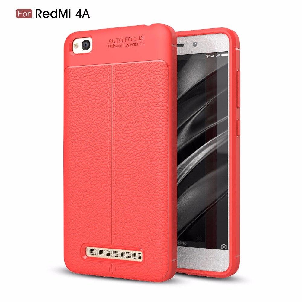 huge discount 64814 8afa8 US $4.99  MSK case For Xiaomi Redmi 4A 4 A Phone Bumper Fitted Case for  Xiaomi Redmi A4 Red mi 4A Phone Bumper Soft TPU Cover coque-in Fitted Cases  ...