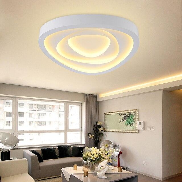 modern led living room ceiling lights design acrylic lamp bedroom