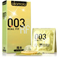 Okamoto 003 gold 10 pack of condoms ultra-thin condoms of health care products wholesale