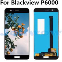 For Blackview P6000 LCD Display+Touch Screen Digitizer Assembly Replacement For Blackview P6000 for elephone p6000 pro lcd display touch screen tools 100