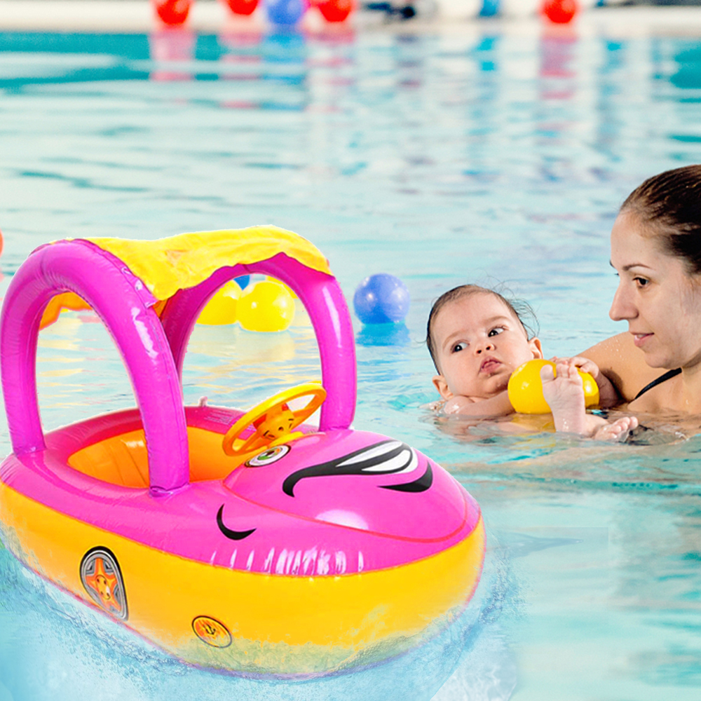 2019 Summer Inflatable Swimming Ring Floating Car For Baby infant Kids Water Floating Toys Beach Swimming Pool Chair Hot Sale