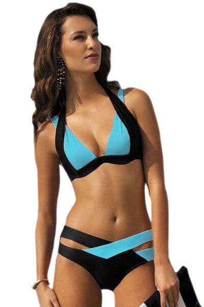 Brazilian Bikini 2018 New Sexy Women Swimwear Swim Suit Plus Size Bikinis Set Maillot De Bain Push Up Bra Swimsuit BJ189 1