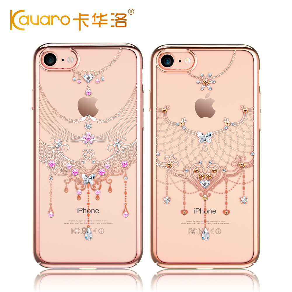 bilder für Original KAVARO Handy Fällen Für Apple iPhone 7/Plus Luxus Harte Rückseitige Abdeckung Strass Fall Mit Kristalle von Swarovski