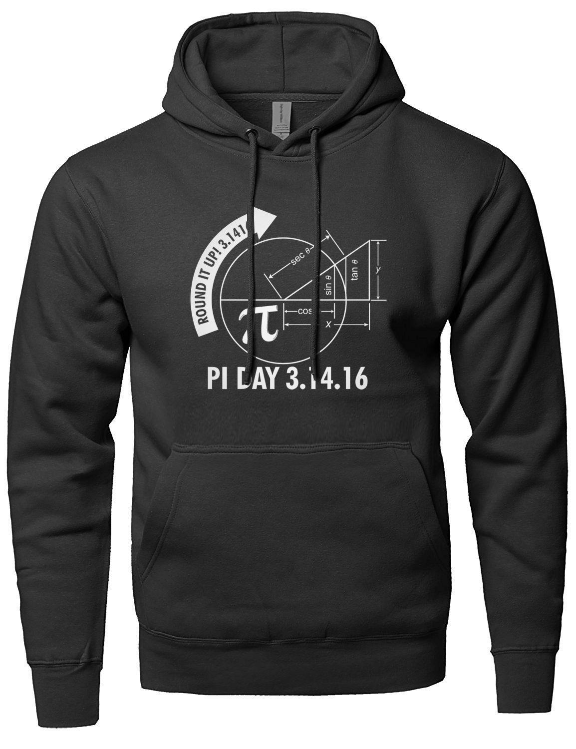 Pi Day 2018 3.1416 Round It Up Math Graph STEM sweatshirt men fashion autumn 2018 male brand clothing hooded mens streetwear mma