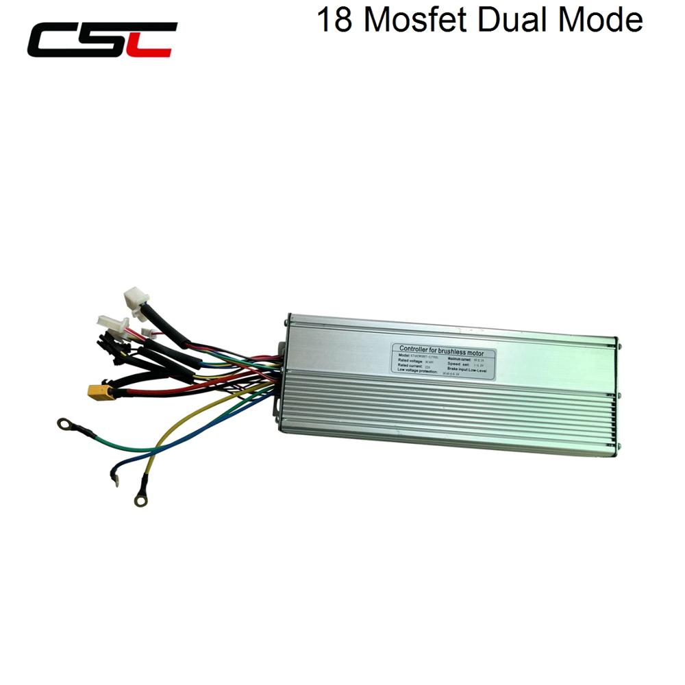 Electric Controller Ebike 6 9 12 18 Mosfet 36V 48V 250W 1500W 2000W KT Display