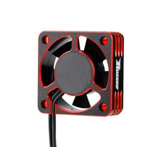 Image 5 - تجاوز هواية المعادن موتور مروحة التبريد RC سيارة ملحق 28000RPM تبديد الحرارة مروحة التبريد ل 540 فرش السيارات حجم صغير
