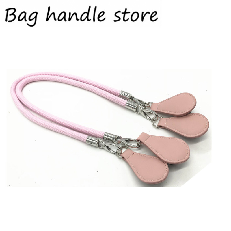 1 Pair 85 /70 /65 Cm New Rope Pink Handle For Obag