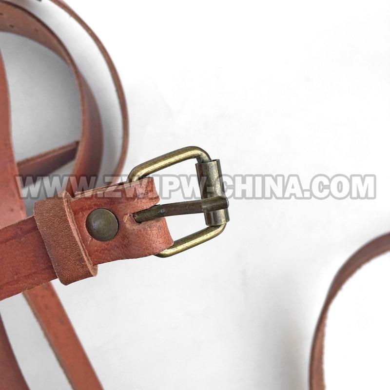 China Army Officer schrägen Gürtel taktische Leder braun CN / - Sportbekleidung und Accessoires - Foto 5