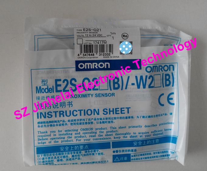 New and original E2S-Q21, E2S-Q22, E2S-Q23 OMRON Proximity sensor,Proximity switch, 12-24VDC [zob] 100% brand new original authentic omron omron photoelectric switch e2s q23 1m 2pcs lot