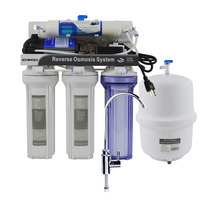 High Efficiency 50GPD Under Sink Reverse Osmosis Drinking Water Filtration System/110 120V Power Supply