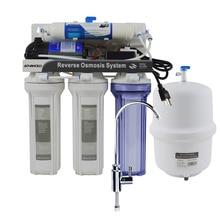 Undersink Type 5 Stage Househould Reverse Osmosis System 50GPD American Standard plug 110V