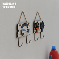 Mediterranean The Coral Dolphins Welcome Listing Marine Hanging Hook Home Decoration Accessories