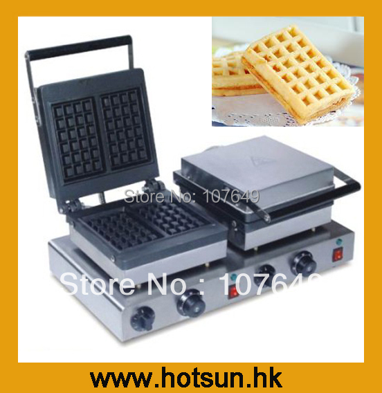 Hot Sale Two-head 220V Electric Waffle Maker hot sale cayler
