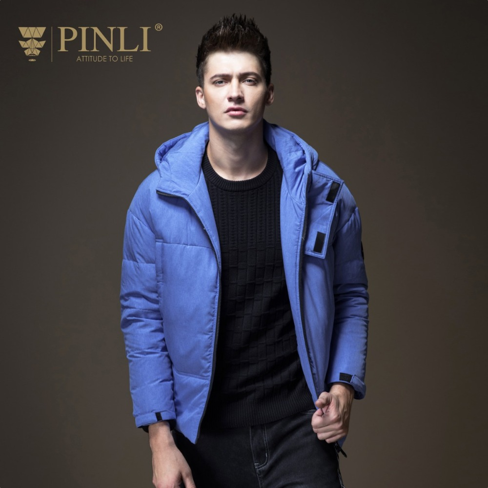 8f2a15ba2ff21 Pinli-2018-Offre-Sp-ciale-Top-Fashion -New-Hiver-Hommes-Capuchon-de-Couleur-Unie-Courte-Blanc.jpg
