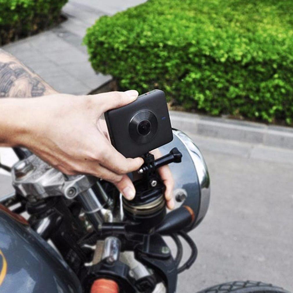 Оригинальный крепление для спортивной камеры Xiao mi jia 360 Panora mi c Камера 23.88MP Сенсор 3,5 K Запись видео 6-осевой Противоударная английское приложе...