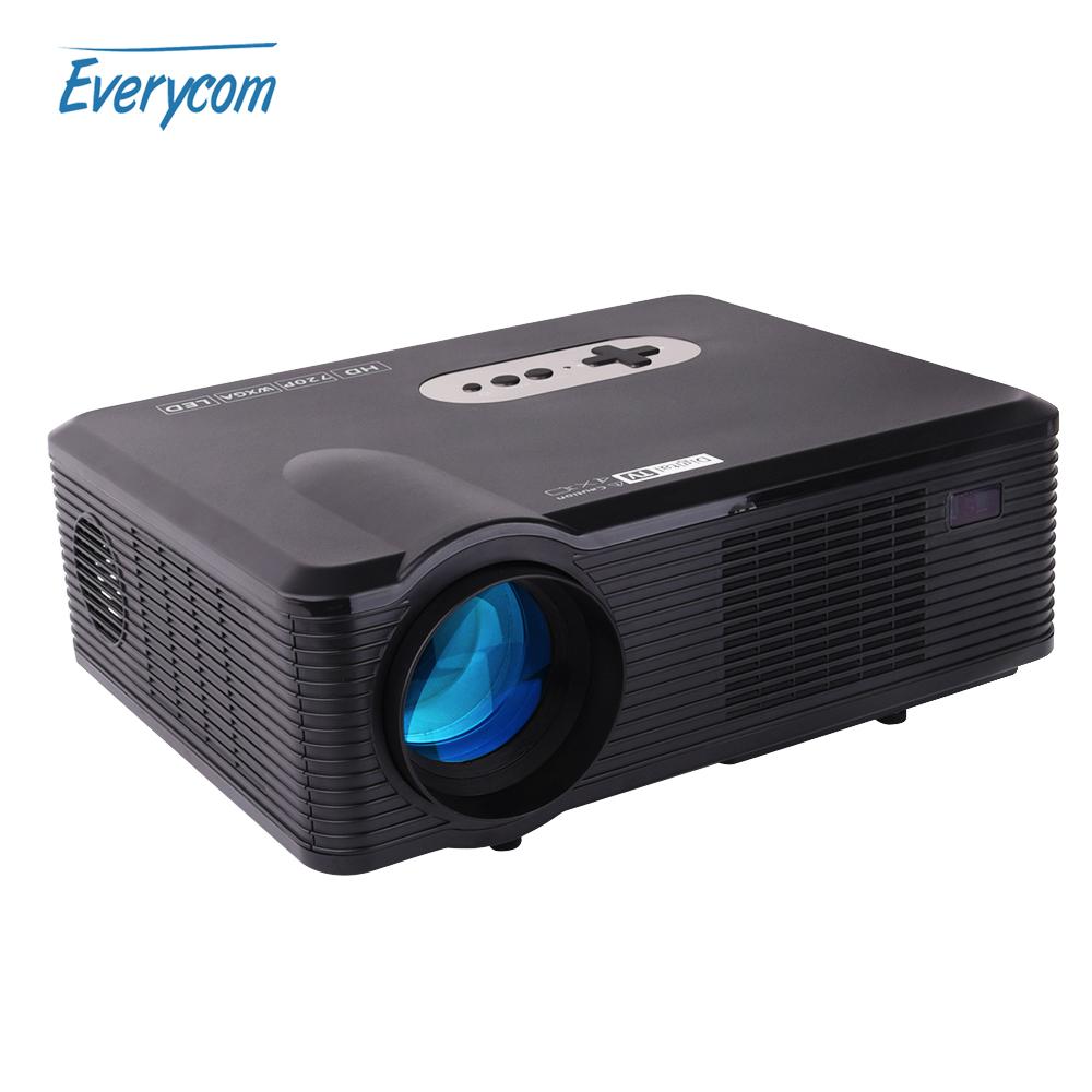 Prix pour D'origine CL720 DTV Projecteur CL720D 1280x720 HD Vidéo Projecteur 3000 Lumens LED Projecteur Home Cinéma pour TV beamer multimédia