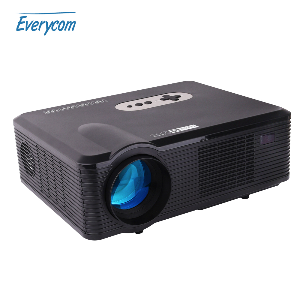 Original cl720 1280x720 hd projector dvb t2 3000 lumens for Hd projector