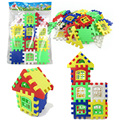 24pcs Baby House Building Blocks Fun Toys Construction Toy Kids Brain Game Learning Educational Toys for children