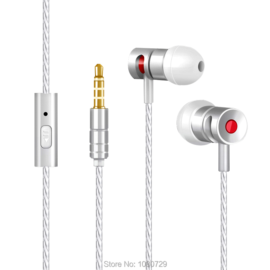 Wire Strong Line Silver Stereo Headphone Hifi Sound Earphone for Sony Xperia Z1 Z2 Z3 C5