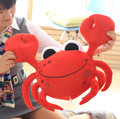 55cm cute cartoon crab doll plush toy girl boy child creative holiday gift crab pillow cushion Steamed Crab Plush Toys Kids Doll