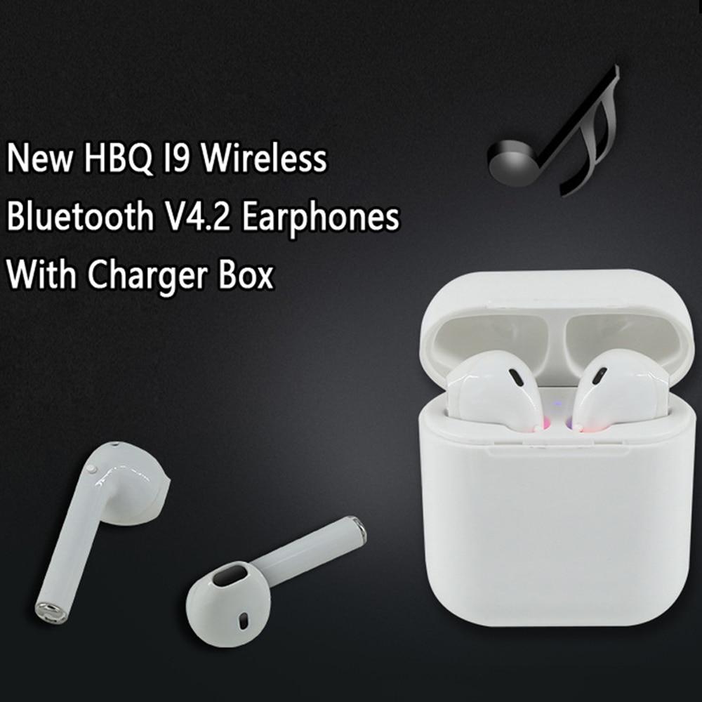 IFANS I9 TWS Auricolari Bluetooth Mini Magnetic Caso del Caricatore Vero Handsfree Senza Fili Dual Cuffie di Sport All smart Auricolare