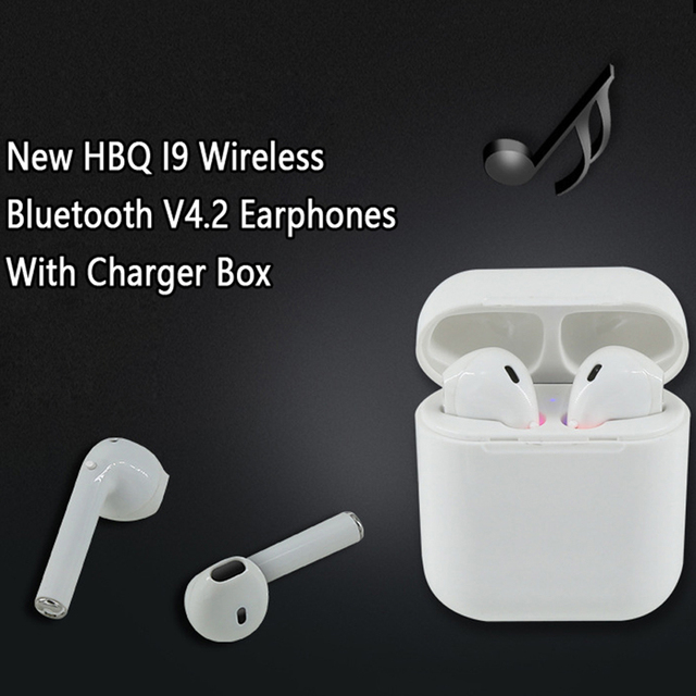 ac2d7a69cc9 Casque Sans Fil Bluetooth Earphones I9 TWS Bluetooth Headset Wireless  Magnetic Charger Wireless Handsfree Dual Sport Headphones