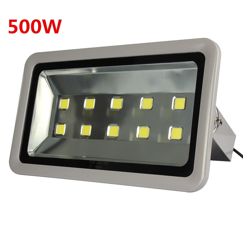 1pcs Led Spotlight 100W 150W 200W 300W 400W 500W Outdoor lighting Floodlight AC 110V 220V Led Flood light Replace Halogen lamp