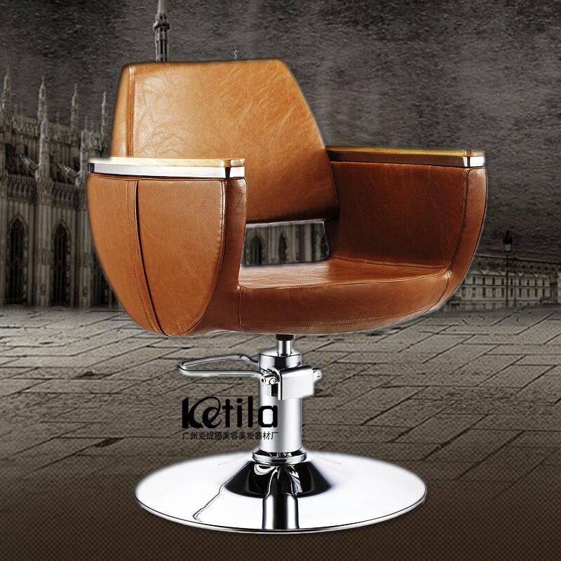 Friseur Stuhl Friseur Stuhl Clear-Cut-Textur