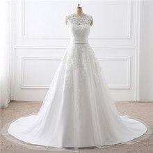 In Stock Short And Long Sleevless Bohemian Wedding Dress Floor Length Vestido De Noiva Princesa Tank Empirre Plus