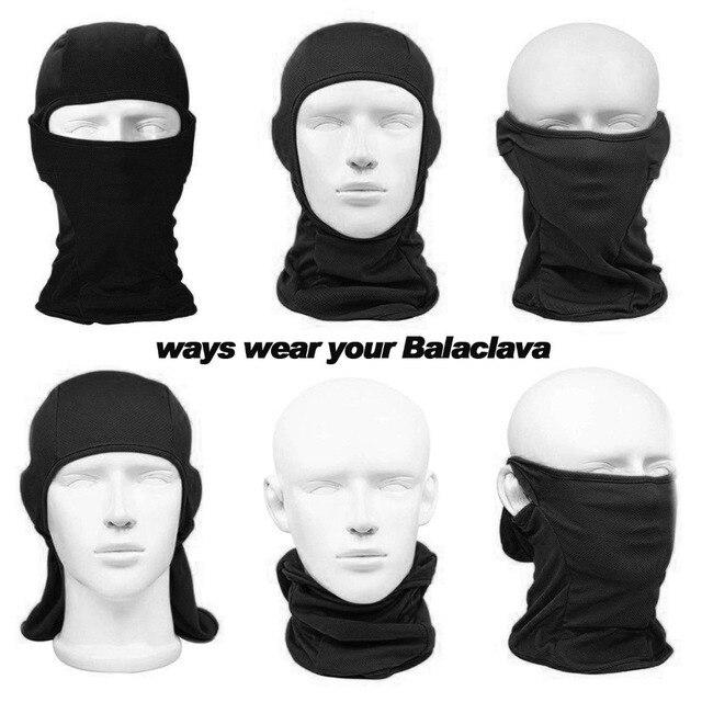 Outdoor Cycling Balaclava Full Face Mask Bicycle Ski Bike Ride Snowboard Sport Headgear Helmet Liner Tactical Paintball Hat Cap 4