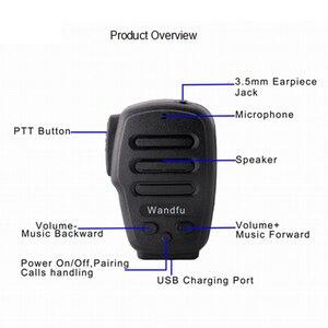 Image 2 - Không dây Bluetooth Cầm Tay Microphone Intercom Cho các PTT ỨNG DỤNG Zello Azett Bper ESChat Bper Cho Apple IOS Và Android Hệ Thống