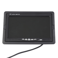 Auto Parts Desktop Display TFT LCD Bracket Monitor 7 Inch Car Monitors Back LCD Screen Preferred Support Multi Language