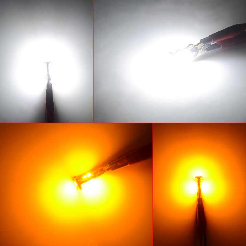 NAO W16W T15 светодиодный автомобильный суперъяркий фонарь заднего хода W16W светодиодный светильник 5 Вт 3030 1300LM Белый 12 в 24 В 921 авто Стоп задний фонарь Янтарный