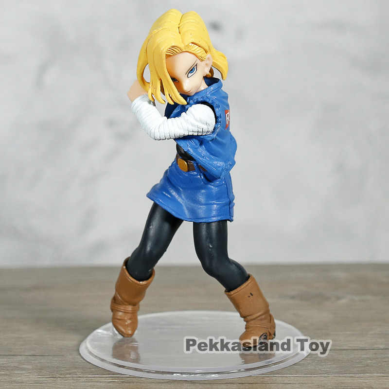 Dragon Ball Z Super Styling Android NO.19 18 PVC Figura Collectible Toy Modelo