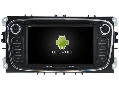 Lecteur Audio dvd de voiture Android 8.1.0 2 GB ram pour FORD MONDEO/FOCUS/S-MAX/GALAXY magnétophone autoradio stéréo DVR 3G